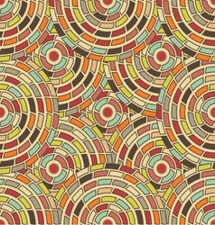 seamless pattern kaleidoscope vector image vector image