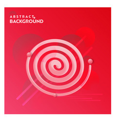 abstract line background with red background vector image