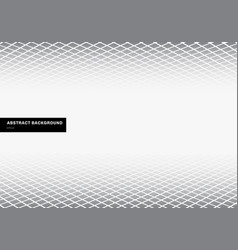 Abstract template gray square pattern perspective vector