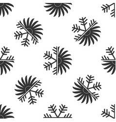 air conditioner icon seamless pattern vector image