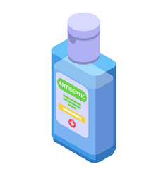 Antiseptic solution icon isometric style vector