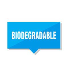 Biodegradable price tag vector