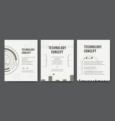 Business template brochure design cover modern vector