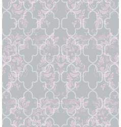 damask abstract pattern texture royal vector image