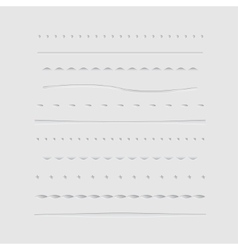 Dividers Collection vector image