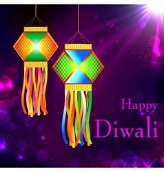 Diwali Kandil vector image