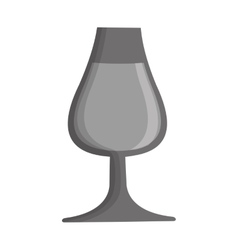 Fresh beer glass isolated icon vector