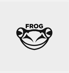frog icon logo vector image
