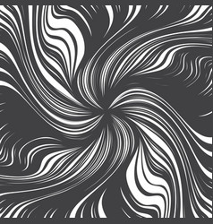 Hand drawn abstract twirl lines texture vector
