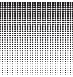 Hexagon Halftone Pattern vector image