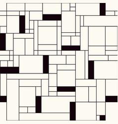 Pavement facade seamless pattern vector