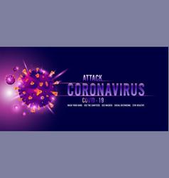 Printcoronavirus covid-19 and virus background vector