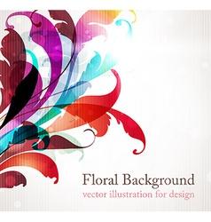 Retro Floral Design vector