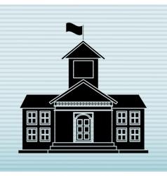School building icon design vector
