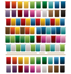 Squared bunting vector