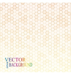 Seamless texture gray hex grid vector image vector image
