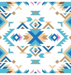 colorful tribal seamless pattern vector image vector image