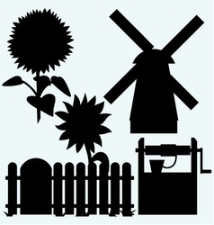 Agriculture vector image