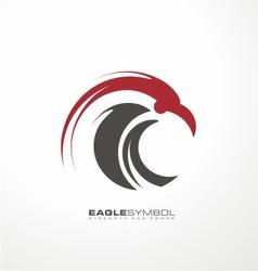 Eagle symbol template vector