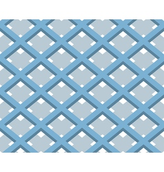 3D Square Box Net Seamless Pattern Background vector