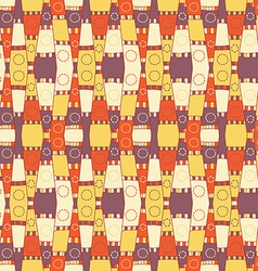 Abstract textile pattern vector image