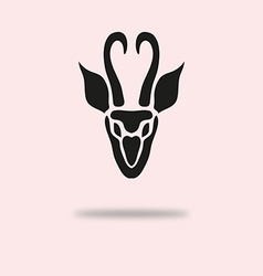 Antelope symbol vector