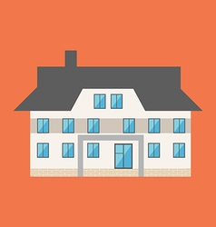 Building House Icon vector image