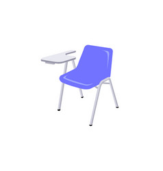 lecture chair isolated on white background vector image