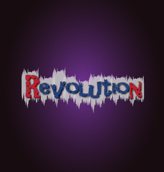 Revolution grafitti vector
