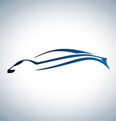Logo of sport auto vector image vector image