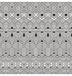 seamless tribal pattern Abstract geometric vector image vector image