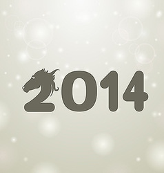 gray 2014 snow white background vector image vector image