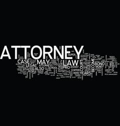 Attorney latest super hero in a society vector