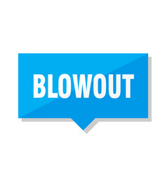 Blowout price tag vector