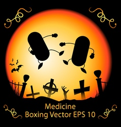 Dark Medicine Boxing vector