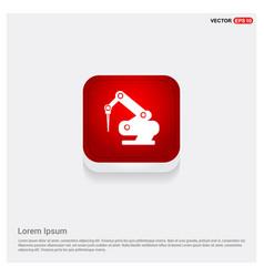 drill crane icon vector image
