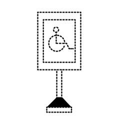 Information road sign design vector