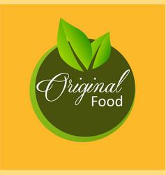 logo original vector image