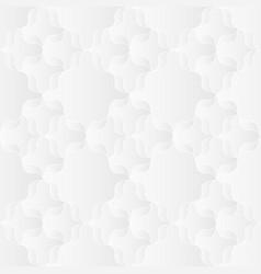 Neutral white ribbon trellis texture vector