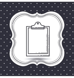 paper document design vector image