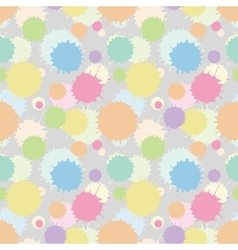 Seamless patterm with painted splash texture vector