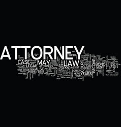 The attorney the latest super hero in a society vector