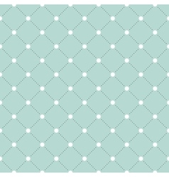 White and black veil seamless pattern on turquoise vector image vector image
