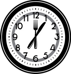 lunchtime3 vector image