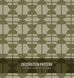 Abstract pattern design vector