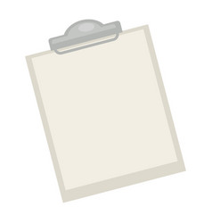 Blank pad with paper vector