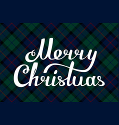 Christmas background packing check plaid texture vector