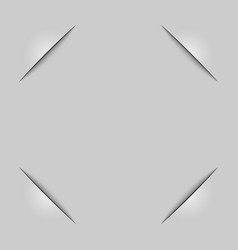 Frame corners vector