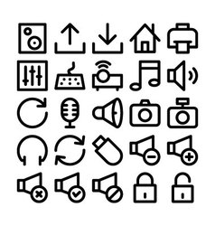 Multimedia Icon 2 vector
