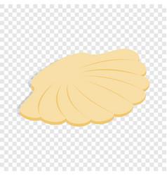 seashell isometric icon vector image
